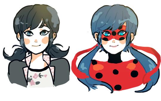 Marinette Dupain-Cheng & Ladybug