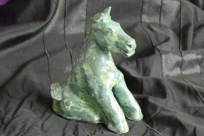 cheval miniature hauteur 150 mm environ