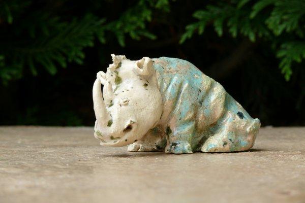 un nouveau rhino, j'ai tellement trouvé le premier sympa a faire ( avec son petit)
