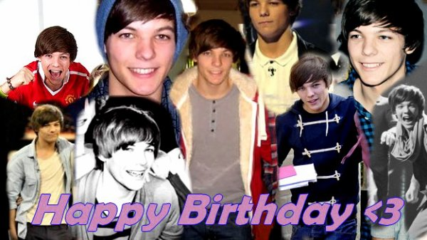 Happy Bithday and Merry Christmas Louis :
