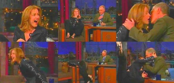 Gillian Anderson se lâche en pleine émission télé !