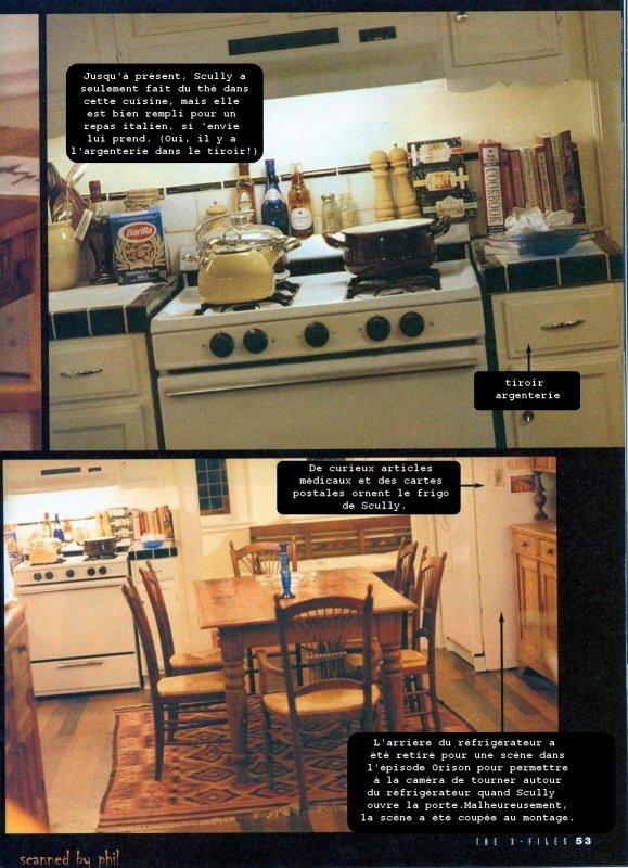 L'appartement de Scully
