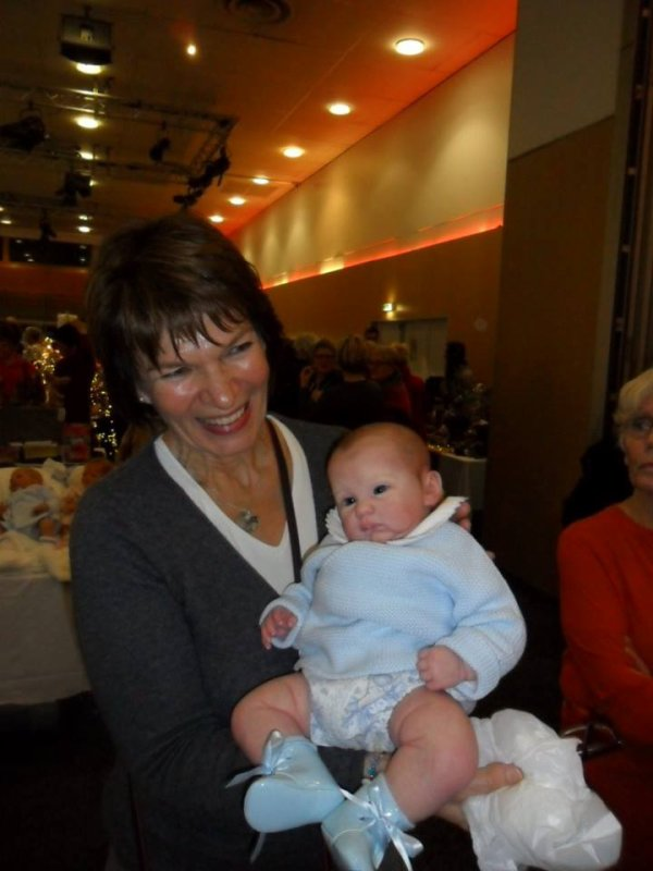 Isabelle a craqué devant ce beau bébé