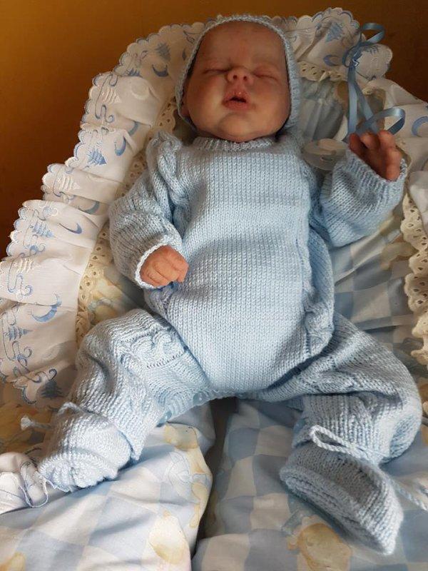 Gabriel, le bébé de Martine