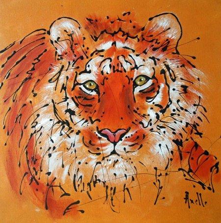 """Tableau """"Le Tigre du Bengale"""""""
