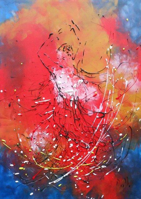 Tableau Danseuse de Flamenco
