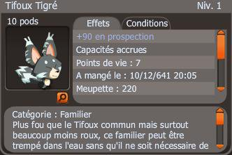 Tifoux Tigré x 8 +90PP