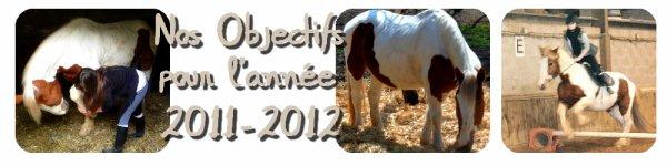 Nos objectifs pour l'année 2011-2012.