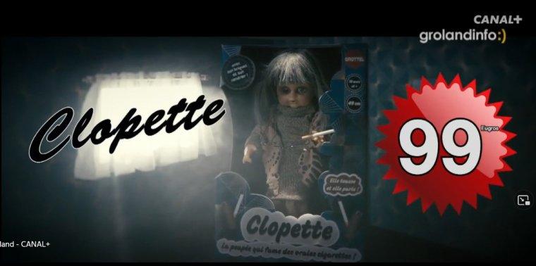 La poupée qui fume