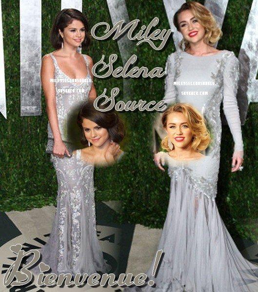 Bienvenue à tous et à toutes sur MileySelenaSource! Votre nouveau blogsource sur les belles et talentueuses Selena Gomez et Miley Cyrus!