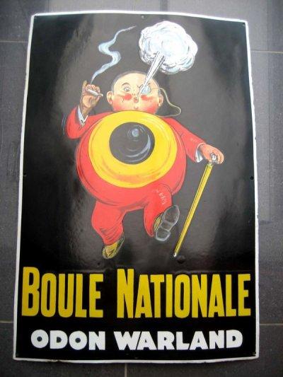 RECHECHE PLAQUE BOULE NATIONALE