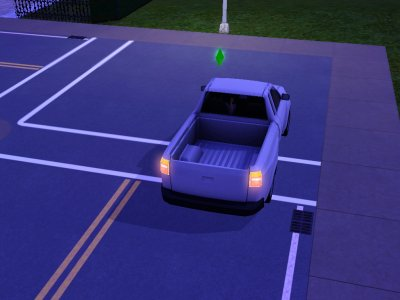 Josh en voiture