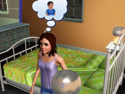 Sheva qui est chez son oncle et sa tante