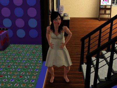 Fergie enceinte.