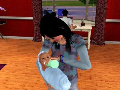 Fergie et son bébé Taylor
