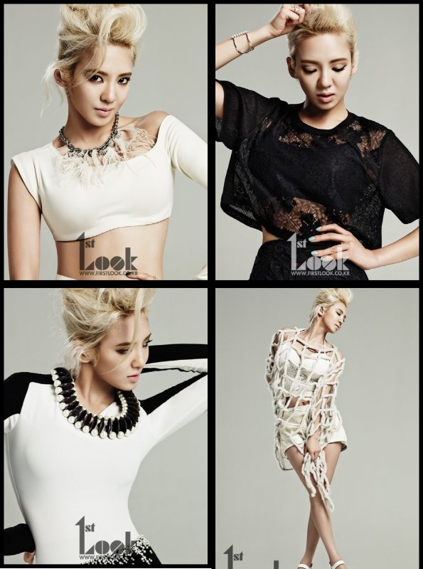 La splendide Hyoyeon...