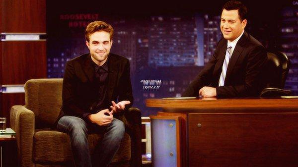"""Robert le 22/08 au """"Jimmy Kimmel Live"""".  TOP / BOF /FLOP ?Gros top pour moi."""