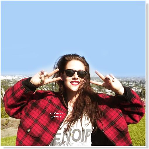 Kristen à une séance photo avec Mario Testino à Los Angeles 2012. - Elle est trop belle - + Kris fait la couverture du magazine Vogue UK pour octobre 2012.  TOP/BOF/FLOP ?