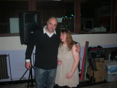 Souper spaguetti, soirée du 20-11-2010: Max et moi.
