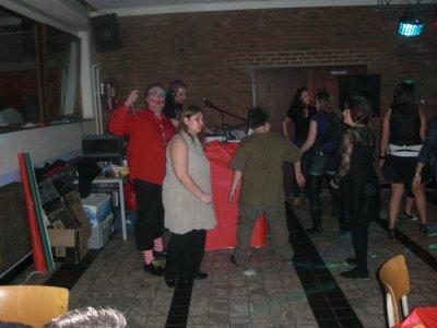 Souper spaguetti soirée du 20-11-2010: Moi qui dance.