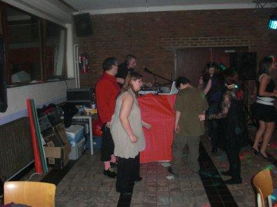 Souper spaguetti, soirée du 20-11-2010: Moi qui dance.