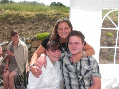 Christian, sa maman et moi: