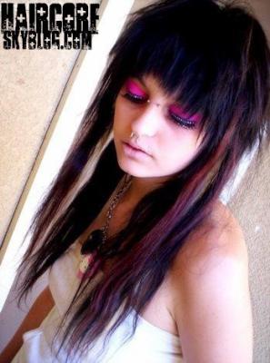 Blog de haircore page 24 b w lcom - Photos meches blondes et noires ...