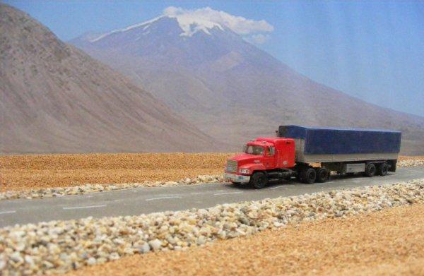 Iranian Mack CH 600, near Mount Ararat!..
