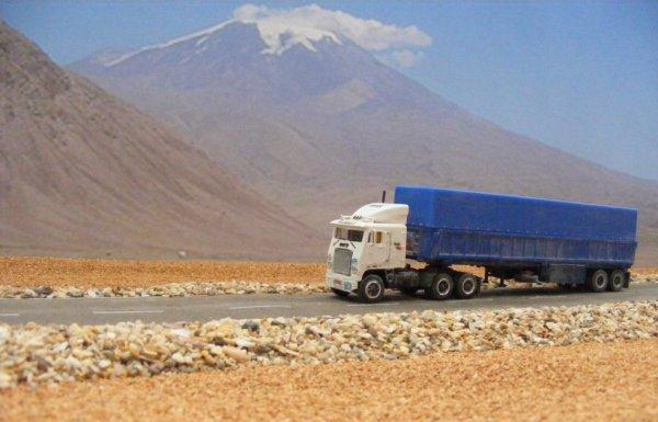 Iranian White Road Commander II, near Mount Ararat!..