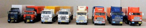 Iranian International trucks line up!..