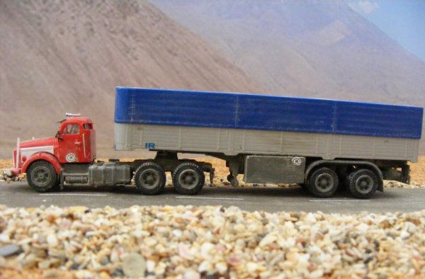 Iranian Volvo N88, near Mount Ararat!.