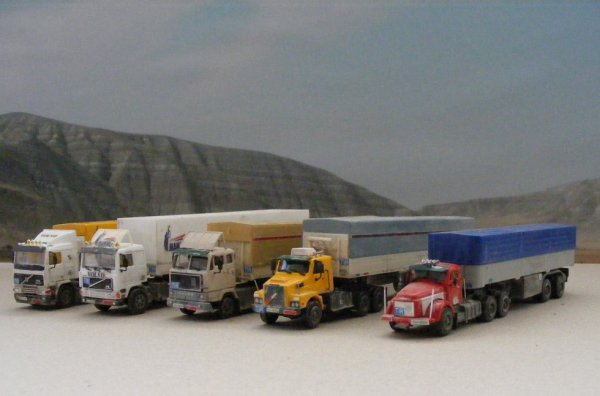 Iranian Volvo trucks!