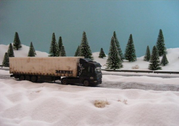 İranian Scania! Difficult winter conditions in Eastern Anatolia.