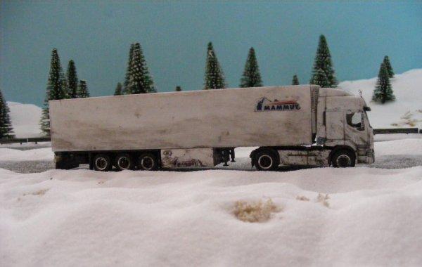 İranian Renault Premium! Difficult winter conditions in Eastern Anatolia.