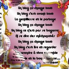 Charte du blog =)