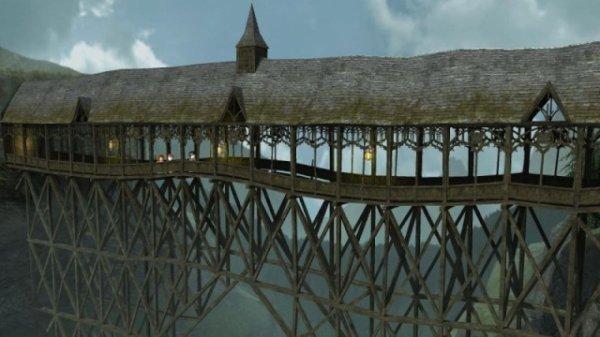 Victoire et Liloo - Le pont