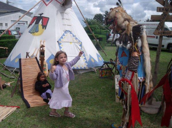 Animation Amérindienne, Itteville 2013