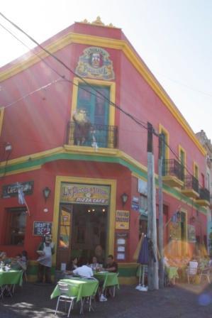 Le quartier de La Boca...
