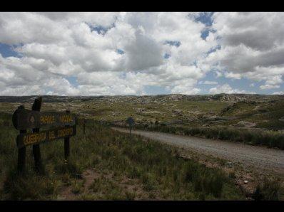 El parque Quebrada del Codoritos...