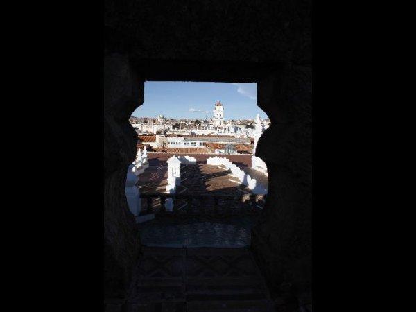 La capitale tranquille de Sucre.