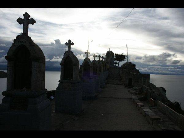 Coppacabana et le lac Titicaca.