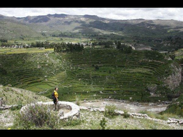 Balade dans la vallee de Colca ...