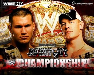 Randy Orton V.S John Cena