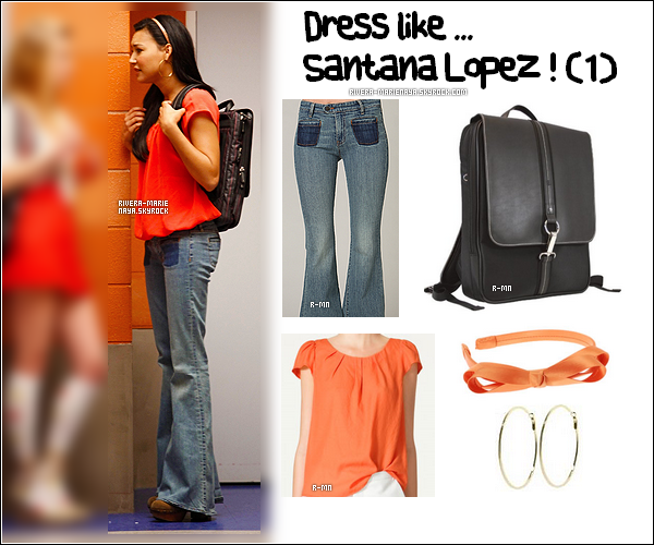 . Dress like ... Santana Lopez ! (1).