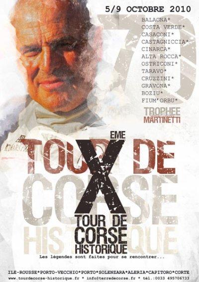 SAISON 2010 10EME TOUR DE CORSE HISTORIQUE