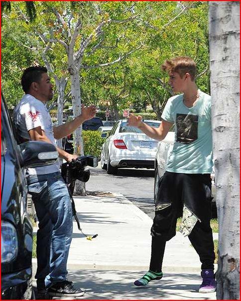 Justin Bieber fight!!!