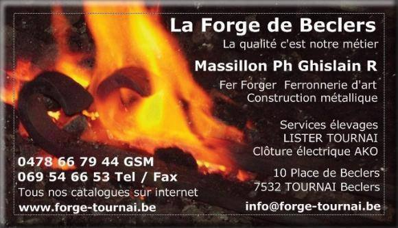 || La Forge de Beclers || Ferronerie D'art ||