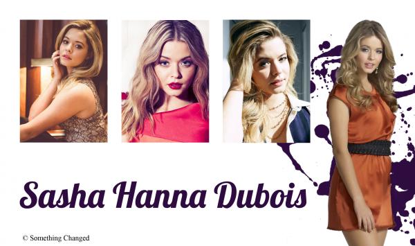 ♦ Sasha Hanna Dubois