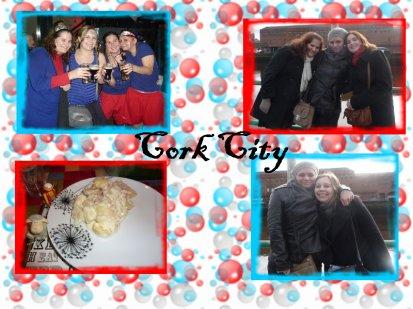Cork, ou : la Tartiflette, le Brownie, le faux match de rugby, les bus...