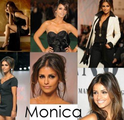 Monica Cruz.
